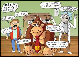 Donkey Kong  a Million Years DK Dot Com by mightyfilm