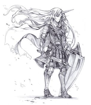 Amalthea Of Strength by glaciesClOvEr