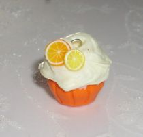 Citrus cupcake by PORGEcreations