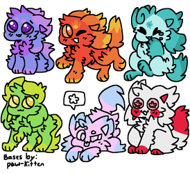 KD Adopts (1/6 OPEN!) (Reduced!) by kitten-cloudy