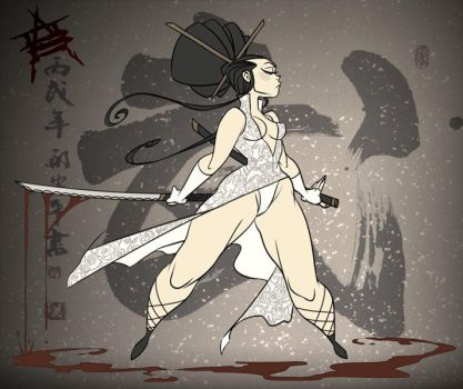 Chinese Warrior by CaptainLuckypants
