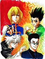 HunterXHunter by mejllano