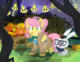 They're coming to get you, Fluttershy! by PixelKitties