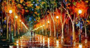 The Path To Victory by Leonid Afremov by Leonidafremov