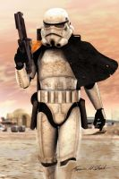 Sandtrooper by Sharby