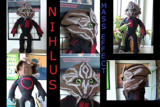 Nihlus, Mass Effect Commission by VineyardElf