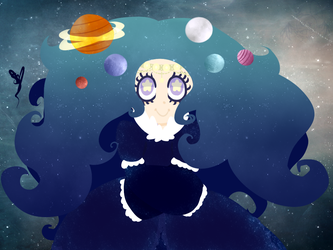 Space Witch by OpalesquePrincess