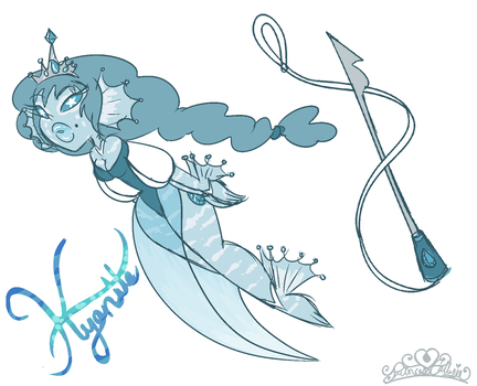 Steven Universe: Kyanite by PrincessCallyie