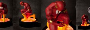 Flash Rebirth Commission by AYsculpture