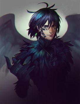 Howl commission by Mstrmagnolia