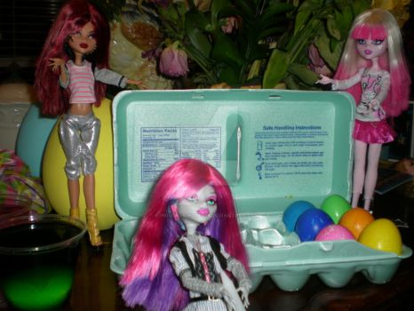 Happy Easter Monster High by Princess-Rose305