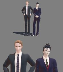 Jim and Oswald Model DLs by CatWoman19