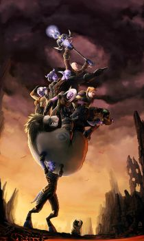 I WILL CARRY YOU TO VICTORY by Tokoldi