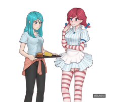 voxana and Wendy by Bardo2