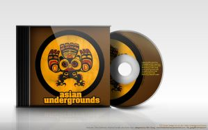 Asian Underground -Disc Cover by freakyframes