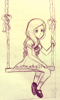 On a swing by MikachuX3