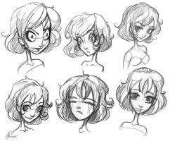 Character Sketch 1 by NoFlutter