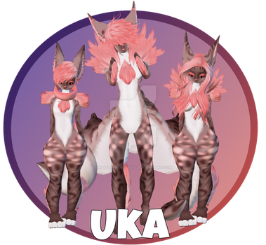 Uka Display by WibbleyWobbleys