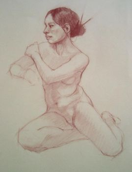 Life Drawing 405 by Darkdesyre