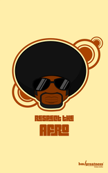 afro man by bmgreatness