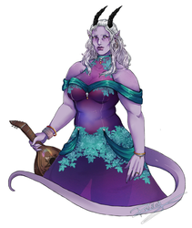 Commission : Ailin's Freya by Rilech