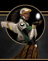 Onyxcon: Sankofa Art by mase0ne