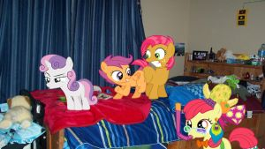 Request: CMC Sleepover by Mr-Kennedy92
