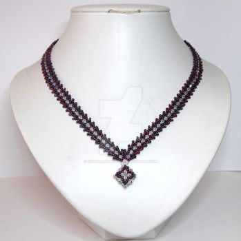 St Petersburg chain necklace by crystalstargems