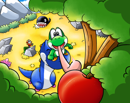 Commish: The Last Apple by Nintendrawer