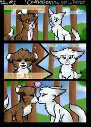 [COLLAB] Warrior Rebellion Comic - Confessions by ThatCreativeCat