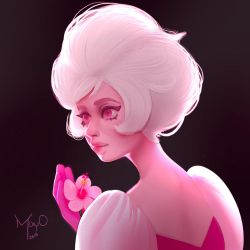 Pink Diamond by MayOrnelas