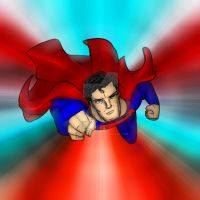 Superman - Charge by What-the-Gaff