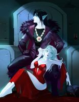 Lord Darkale and his concubine Omella by APetruk