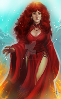 Lady Melisandre [RE-DO] by mattolsonart