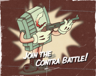 Contra Poster by MadArtsXIII