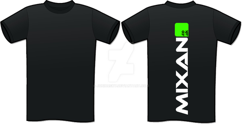Mixan t-shirt project by Juniorsky