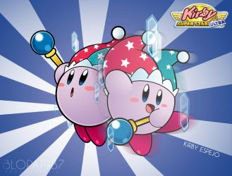 Kirby Mirror by Blopa1987