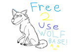 A more realistic Wolf Base [READ DESC] by Flippyisadorable
