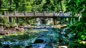 Minneopa State Park Bridge by simpspin