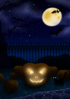 When the Pumpkins grow by Nephiam