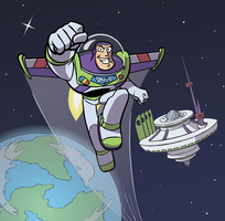Buzz Lightyear of Star Command by mistermuck