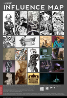 Influence Map meme by Laemeur