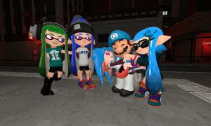 The Adopted Orphan Small Octoling (Splatoon GMOD) by Geoffman275
