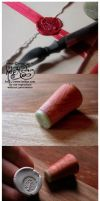 Tutorial -  Personal Wax Seal by myceliae