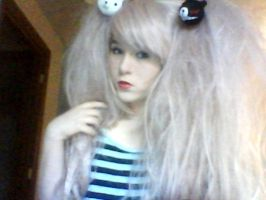 Junko Enoshima Makeup + Wig test by ucccoffee