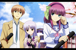 Angel Beats! by Shinoharaa