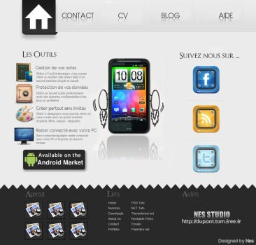 Webdesign Simple HTC by Nes-Production