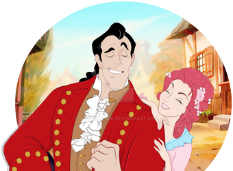 Beauty and the Beast: Nobody Rebounds Like Gaston by mandymcgee