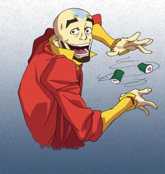 Avatar Aang - The Greatest Trick by Pmenezes