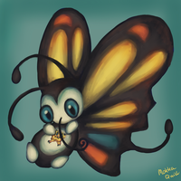 Pokemon Advent Challenge Day 7-Beautifly